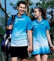 羽毛球服套装情侣装男女网球衣乒乓排球含短裤/裙裤